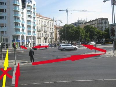 Uma cidade pensada para facilitar a vida a quem anda de carro